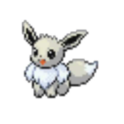 Eevee sprite png. Shiny front roblox