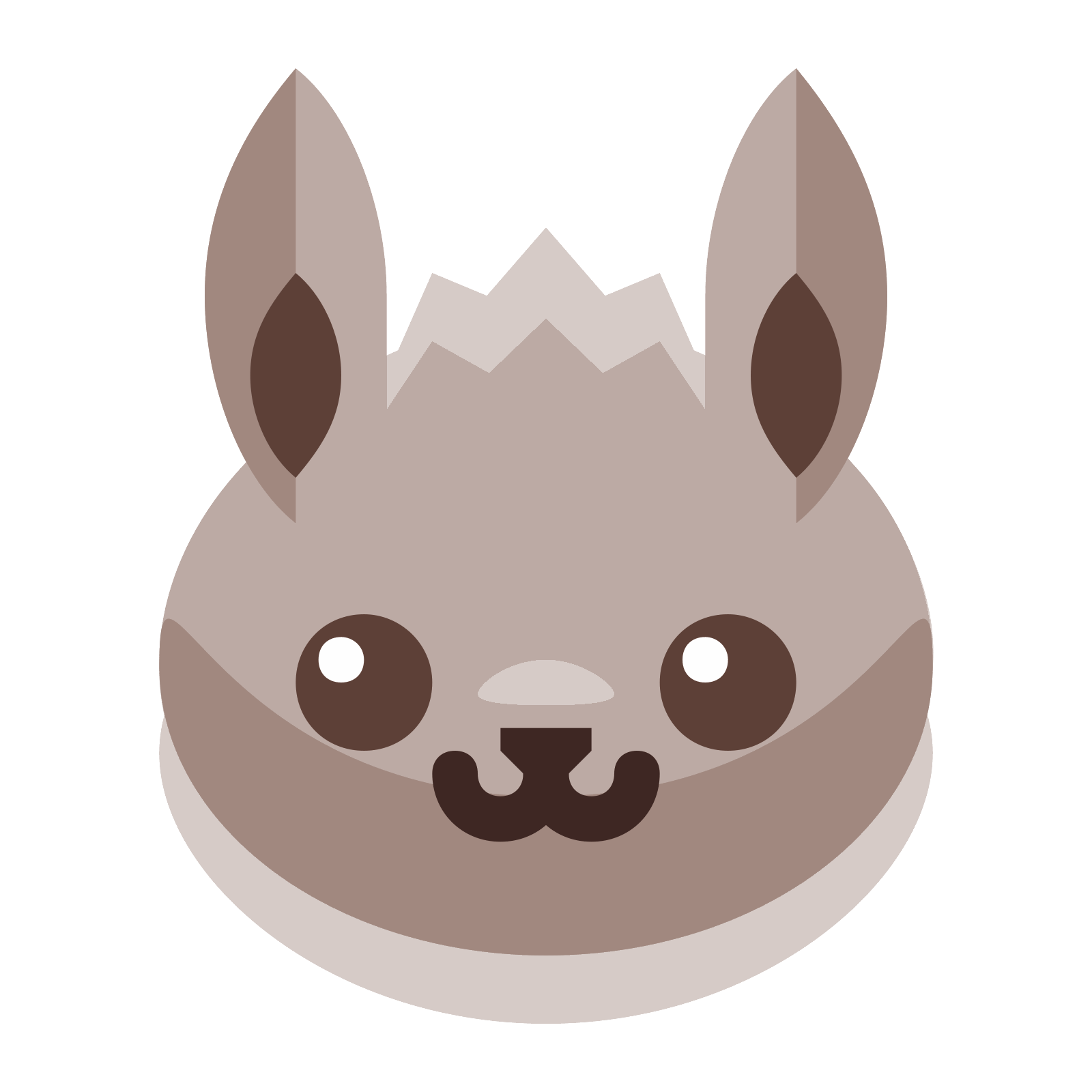 Eevee vector. Icon free download png