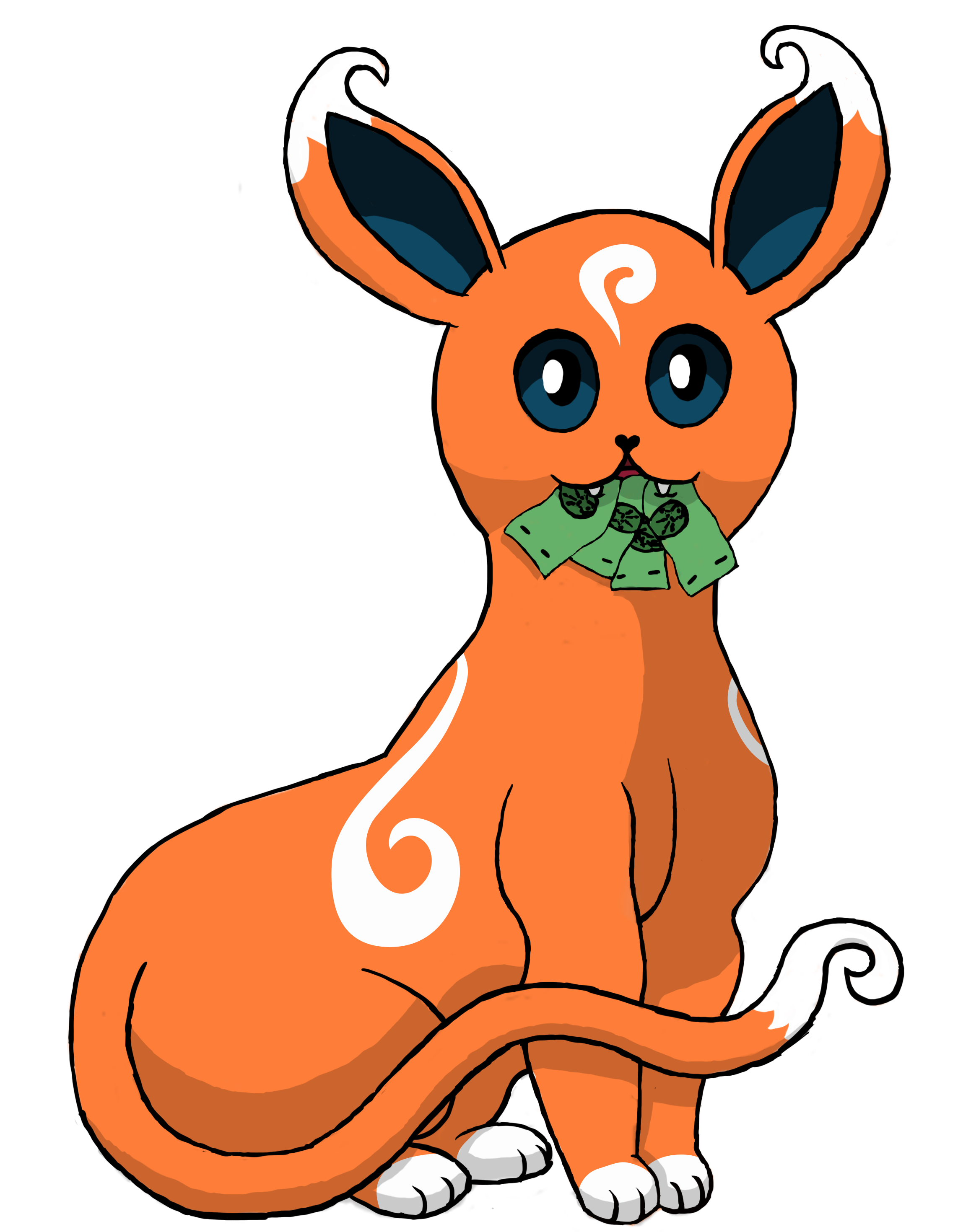 Eevee vector. Patreon oceanity net painted