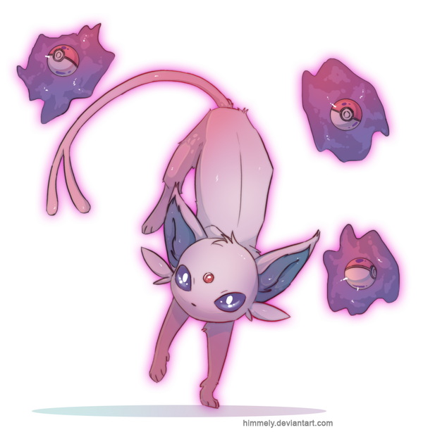 Transparent espeon deviantart. By himmely on