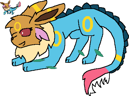 Eeveelution drawing fusion. Unloved soul of some