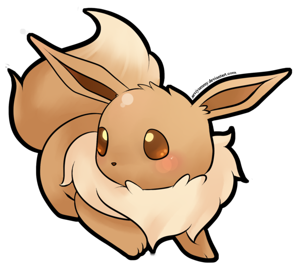 Eeveelution drawing. Eevee at getdrawings com