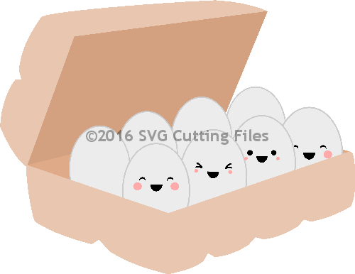 Yorkie svg kawaii. Egg carton pp