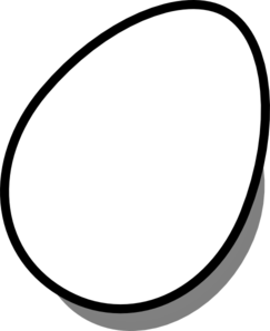 Drawing egg animated. Free clipart black and
