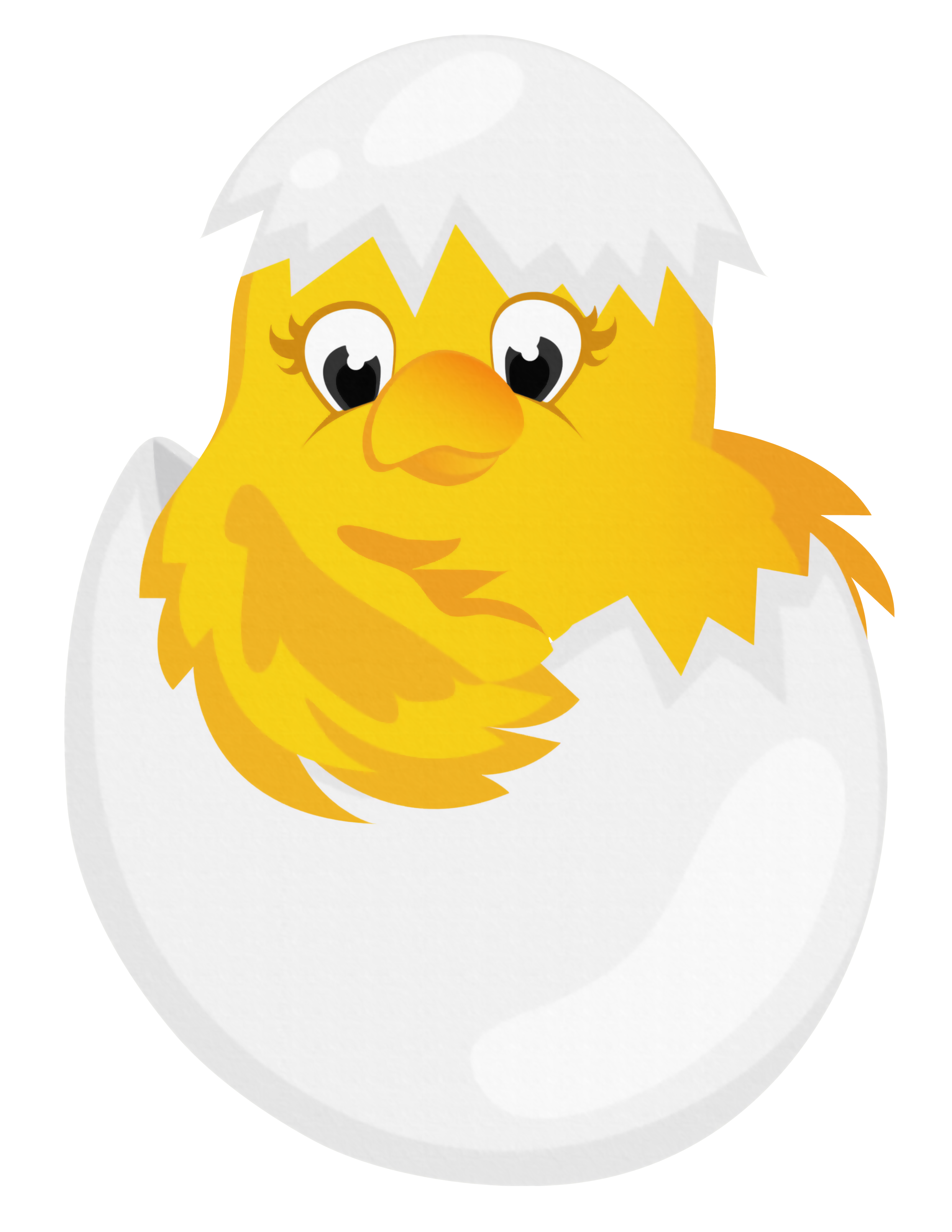 chick transparent easter