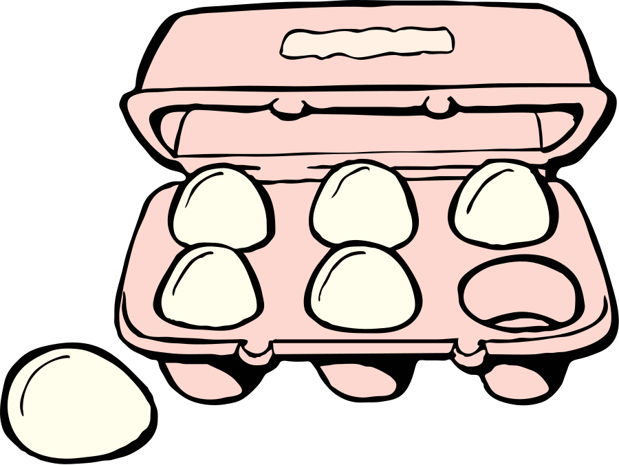 Eggs clipart tray clipart. Free egg cliparts download