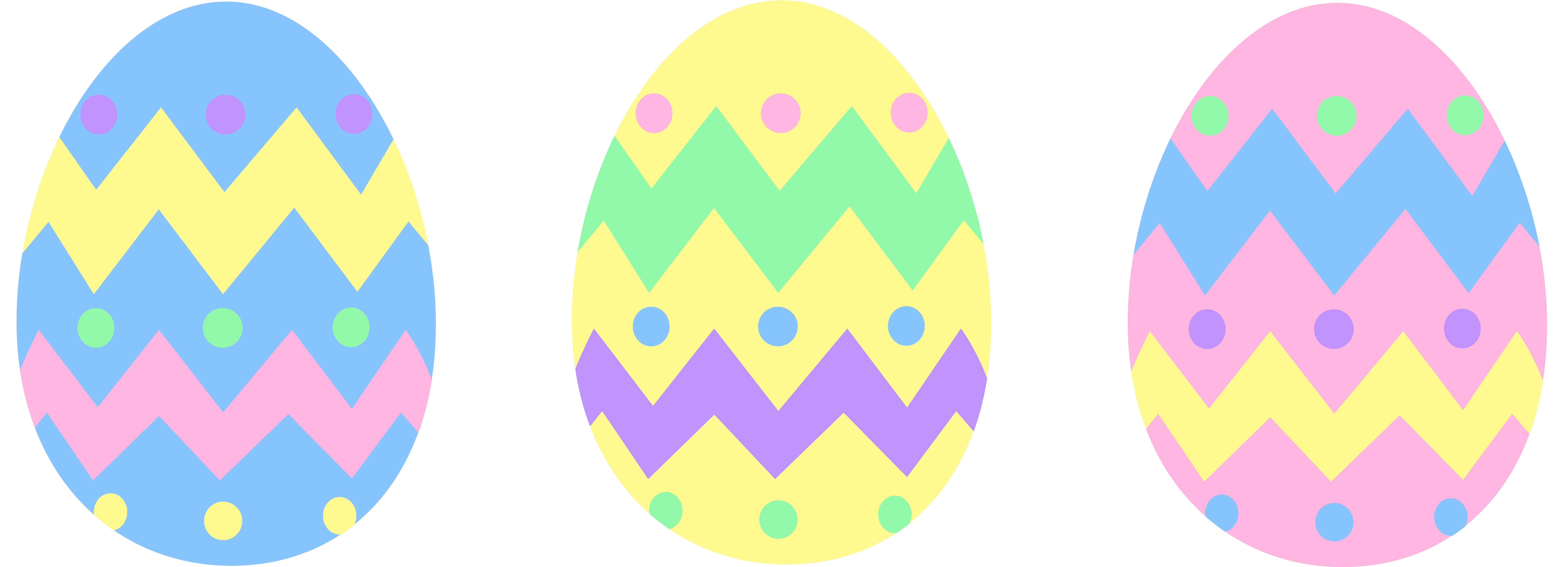 drawing egg colorful