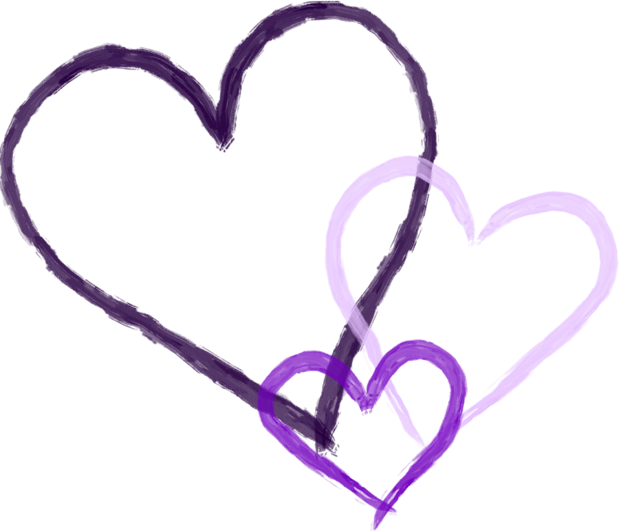 Purple hearts png. Heart cliparts co by