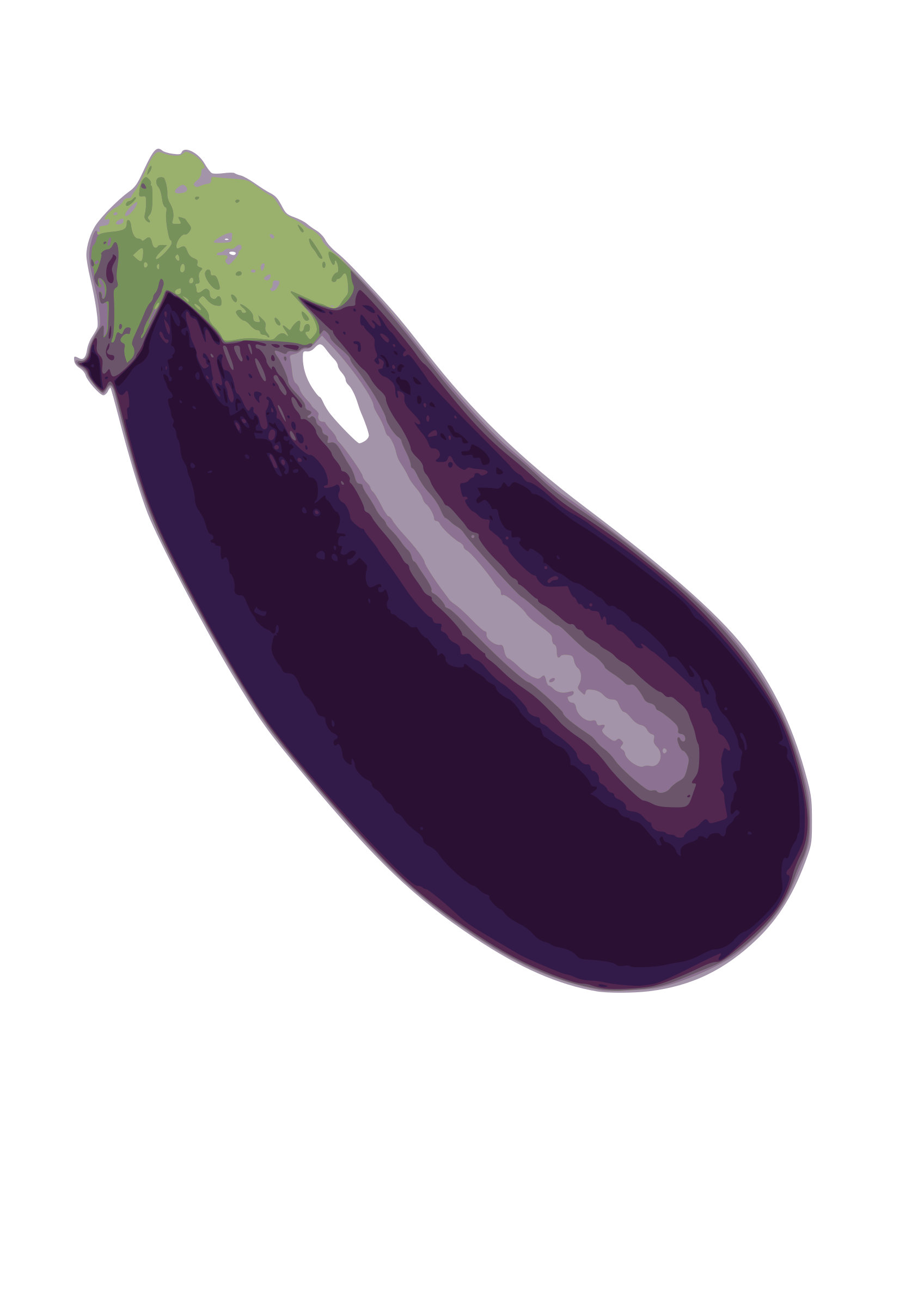 Eggplant png small. Clipart