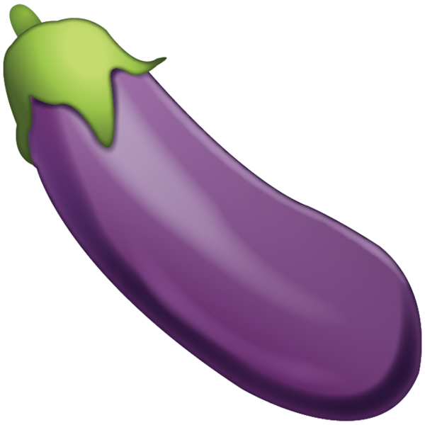 Eggplant transparent. Download emoji icon island