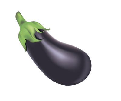 Eggplant transparent background. Gallery isolated stock photos