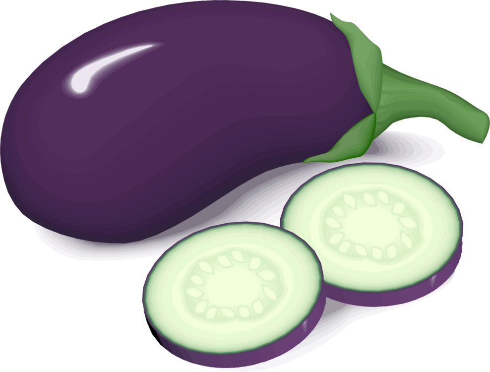 Eggplant vector clip art. Fruit vegetable drawing free