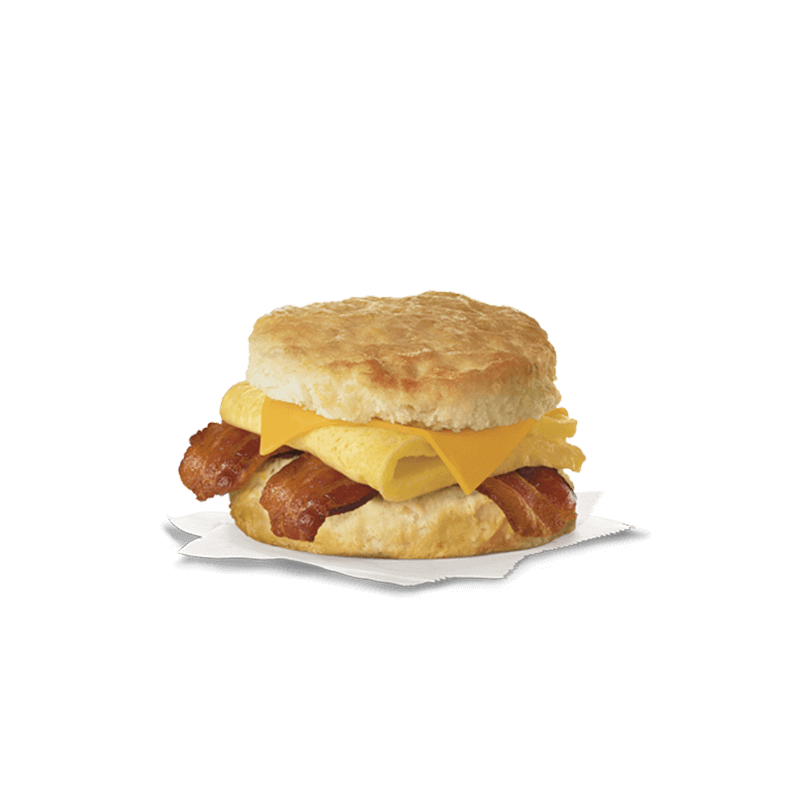 Eggs and bacon png. Egg cheese biscuit nutrition
