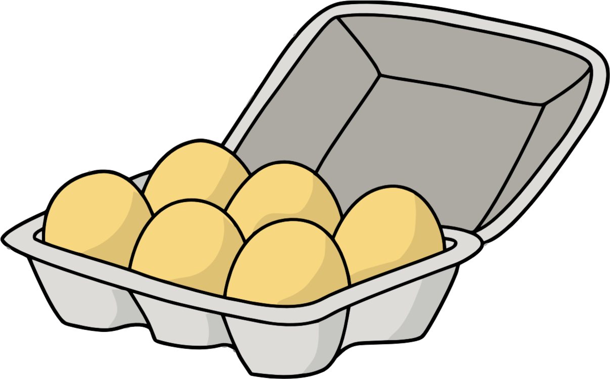 Drawing egg hen. Food chicken animation free