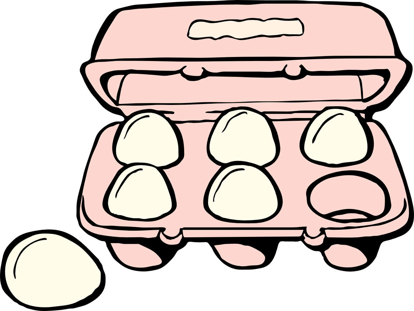 Eggs clipart egg whites. Fried at getdrawings com