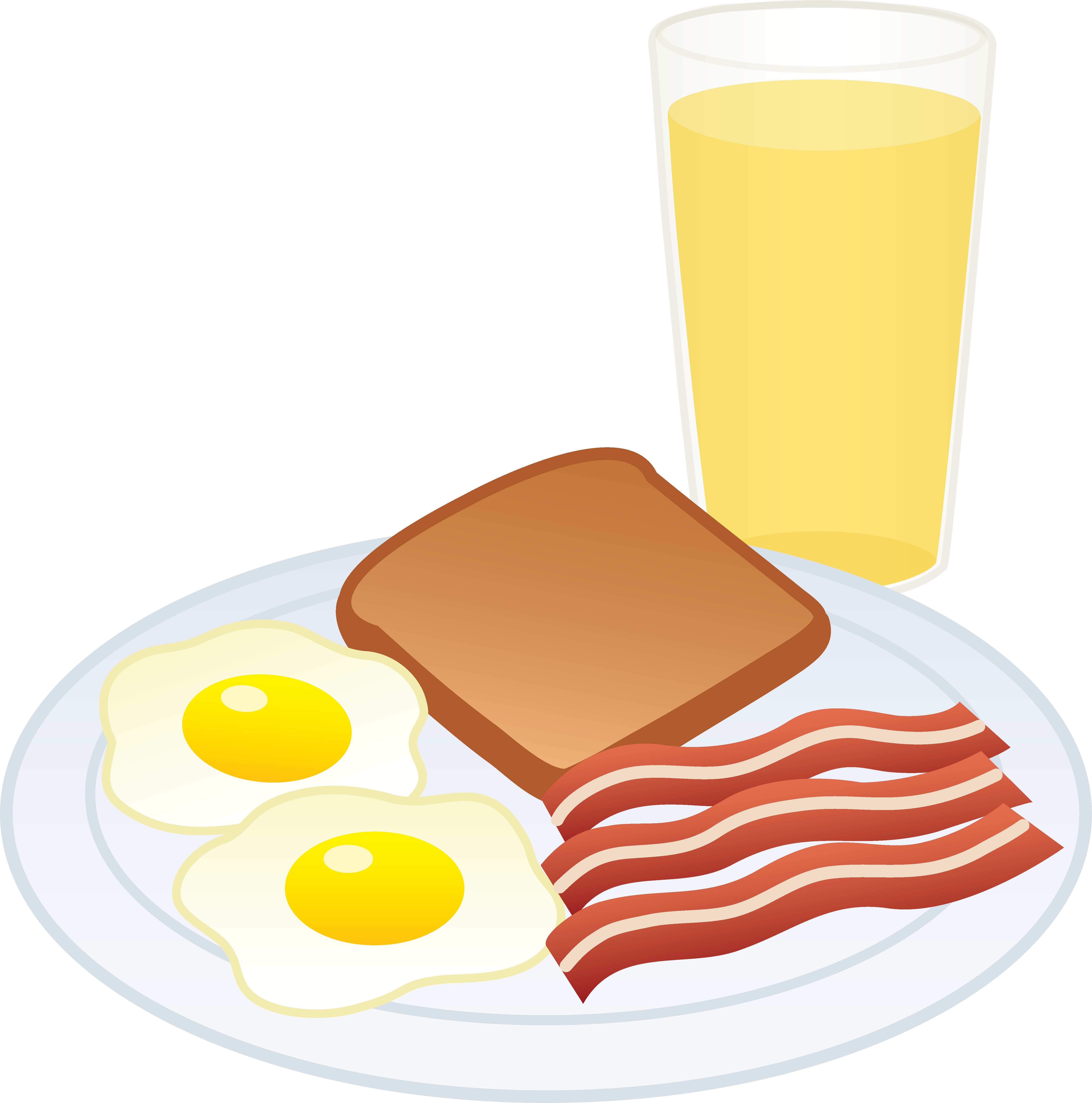 Free fried egg download. Breakfast clipart image black and white download