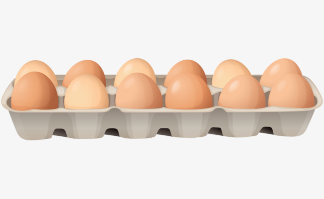Eggs clipart tray clipart. Container egg raw png