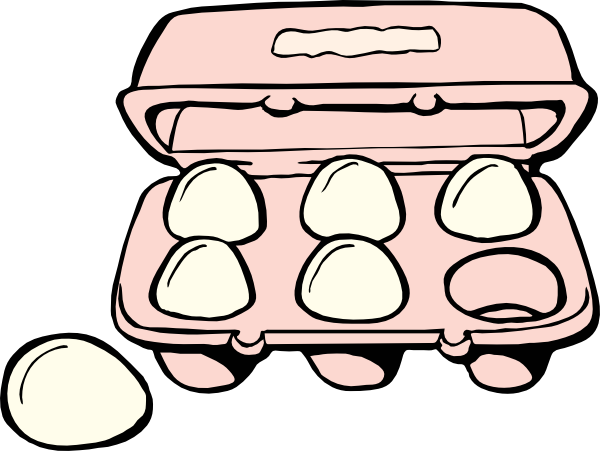 eggs vector animated
