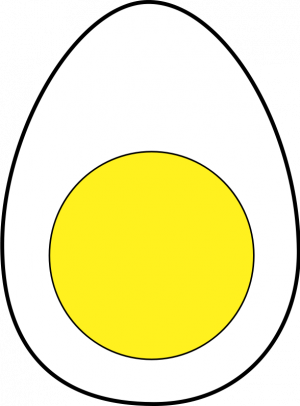 Eggs vector. Publicdomainvectors org egg illustration