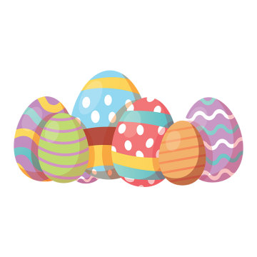Eggs vector chocolate egg. Colorful png vectors psd
