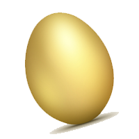 Eggs vector golden. Quotes about