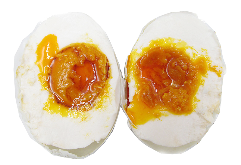 Eggs vector salted egg. Duck yolk pickling features