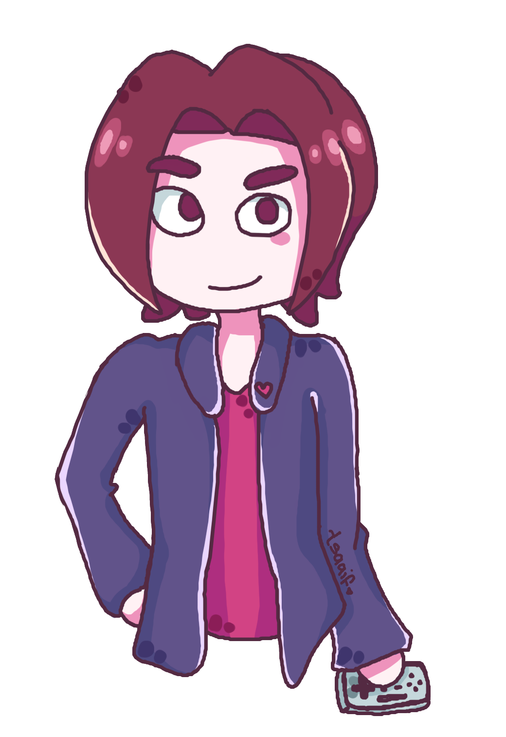 Egoraptor drawing cartoon. For mariotwo by tsaaif