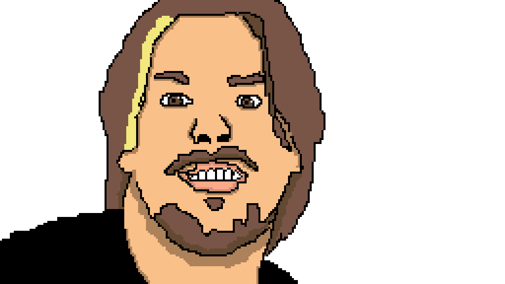 Egoraptor drawing chins. Pixilart by holyho mo