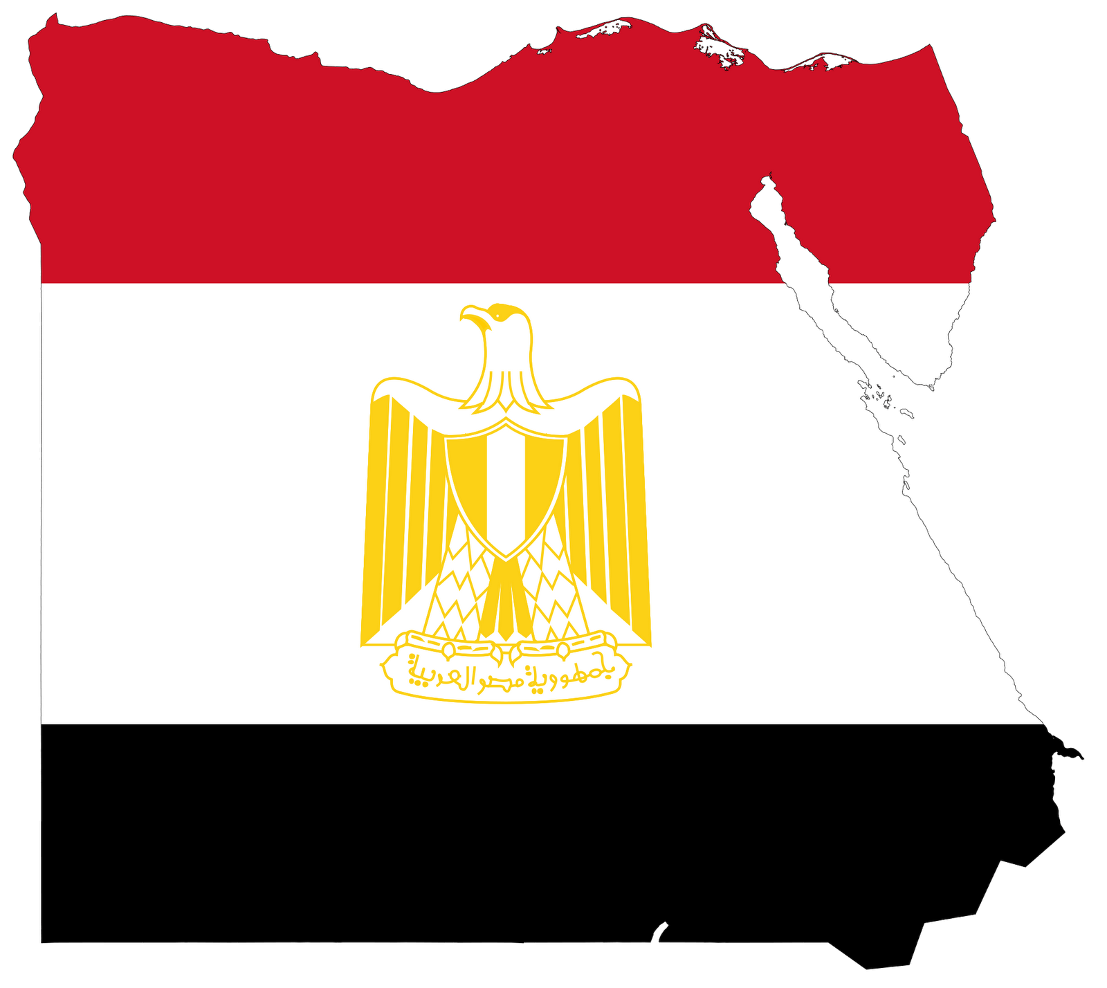 Egypt clipart. Map of