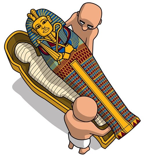 Egypt clipart sarcophagus. How to make a