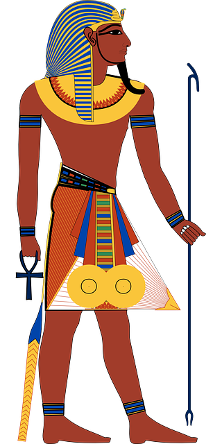 pharaoh vector eye egypt