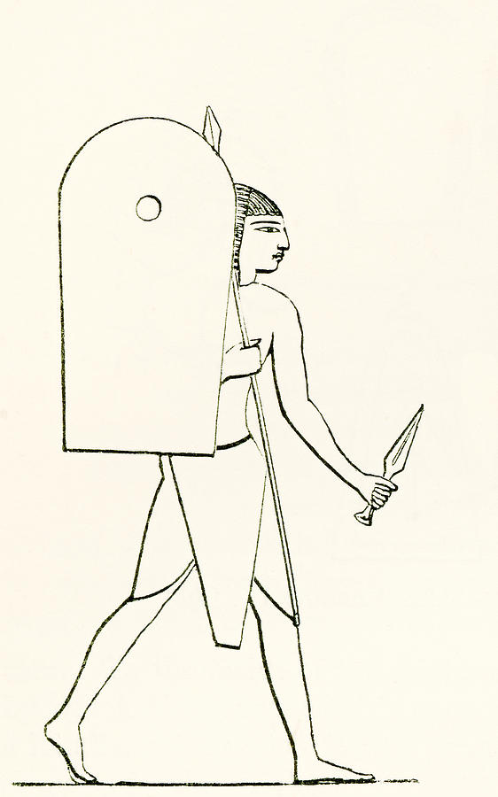 Egypt clipart soldier egyptian. Ancient drawing at getdrawings