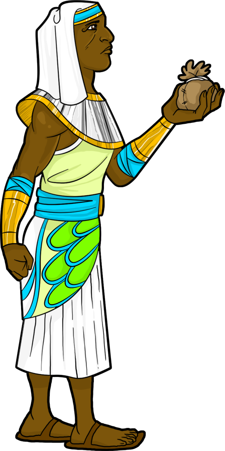 Egypt clipart trader. Egyptian at the marketplace