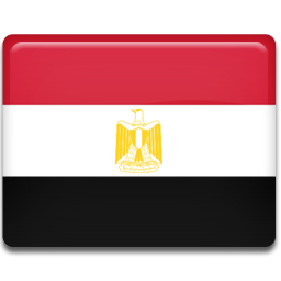 Egypt flag png. Icon