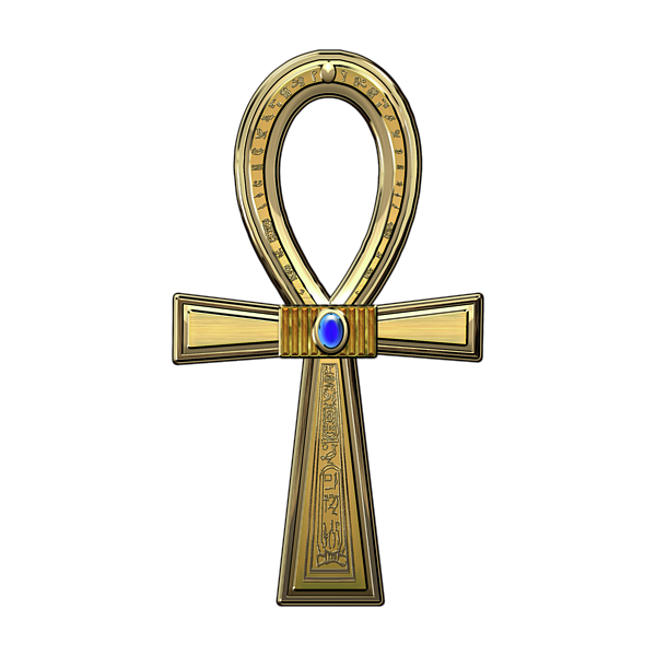 Egyptian ankh png. Ancient sacred cross onesie