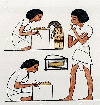 Egyptian clipart egyptian scribe. Hieroglyphics time detectives communication