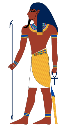 Egyptian clipart person mesopotamian. Atum wikipedia