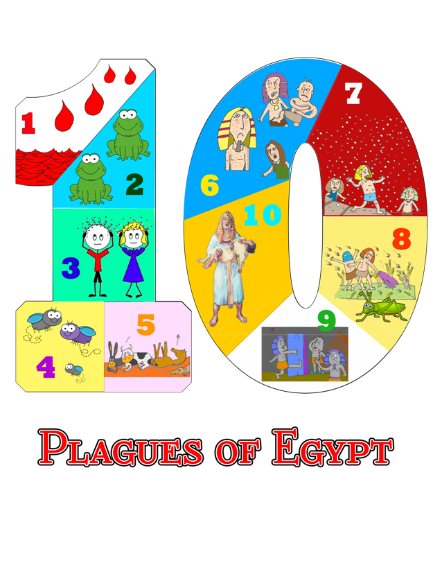 passover clipart plagues