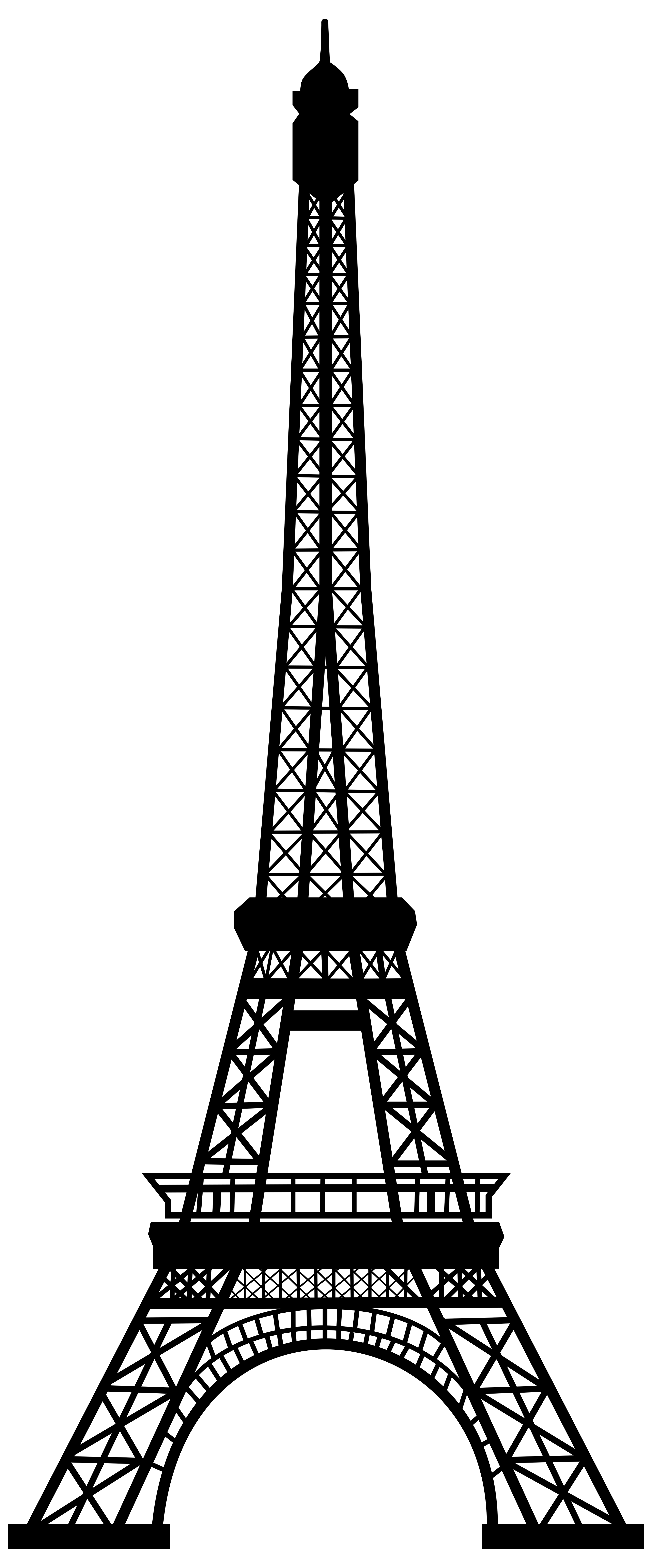 eiffel tower outline png