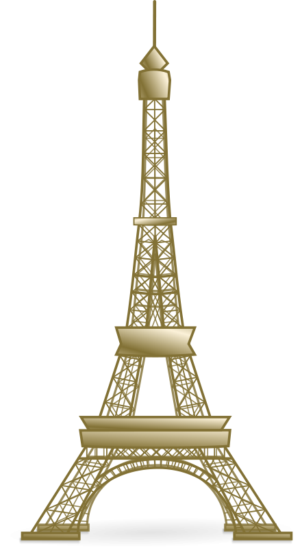 Eiffel tower vector png. Free psd files vectors