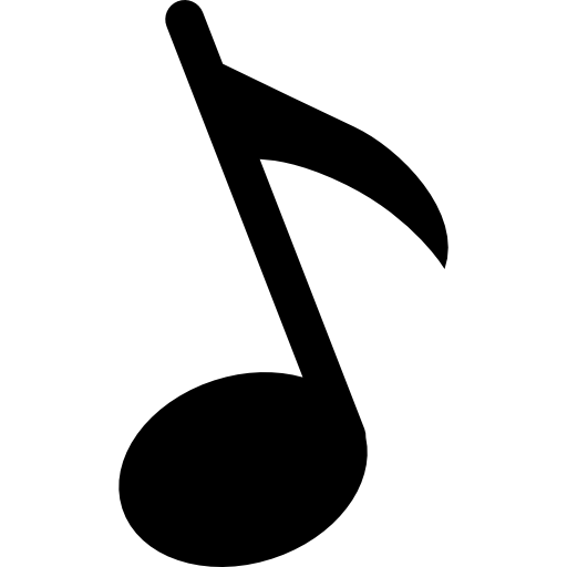 Eighth note png. Free music icons icon