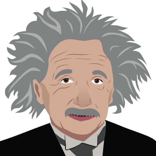 Einstein vector. Transparent png pictures free