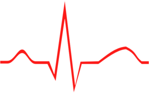 Ekg clipart wave. Signal clip art at