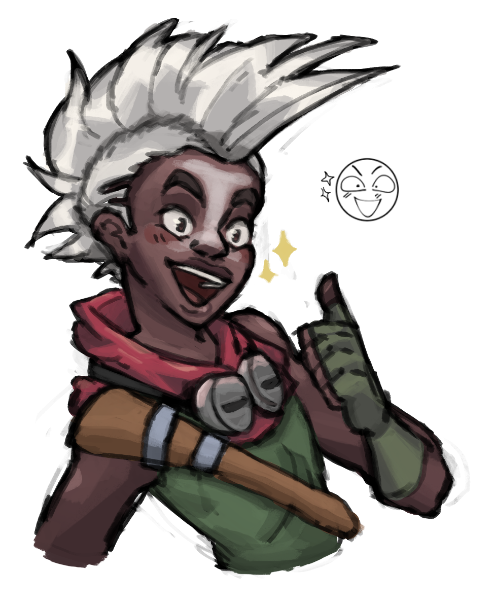 Ekko drawing cute. I draw things have