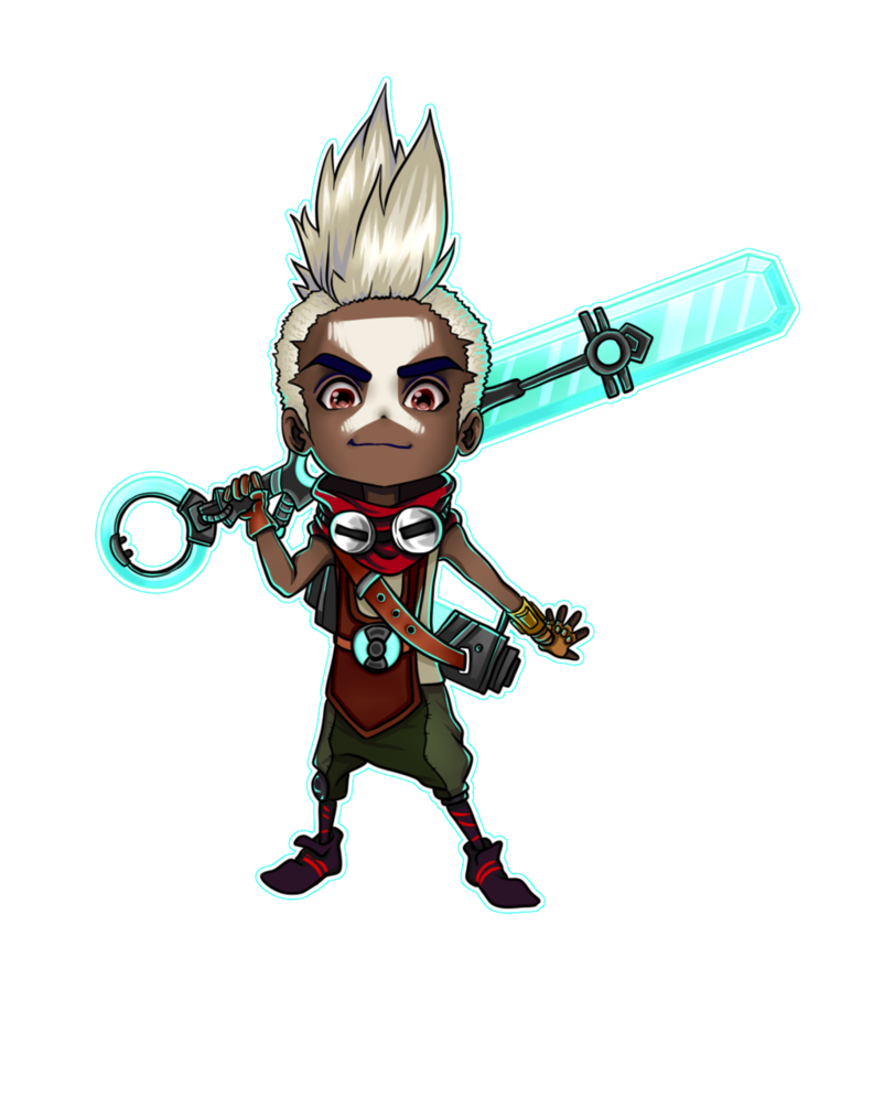Ekko Drawing Champions Transparent Png Clipart Free