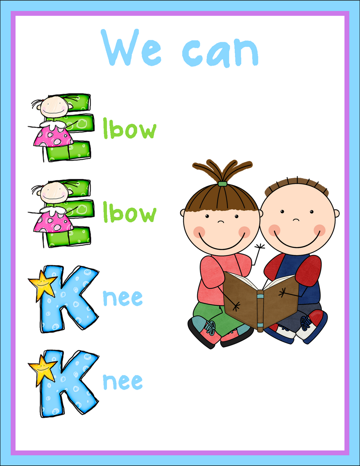 Kindergarten daily book study. Elbow clipart elbow partner clip royalty free download