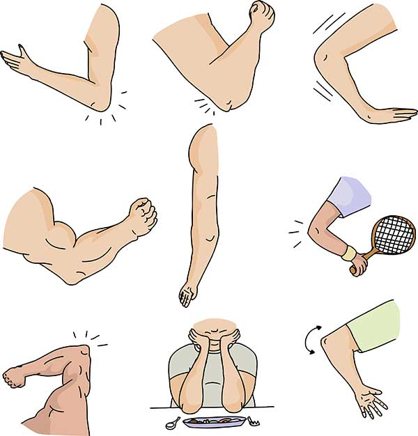 Elbow clipart tennis elbow. Affects non players as