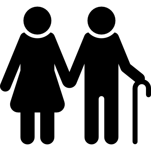 Elderly couple png. Old icons free download