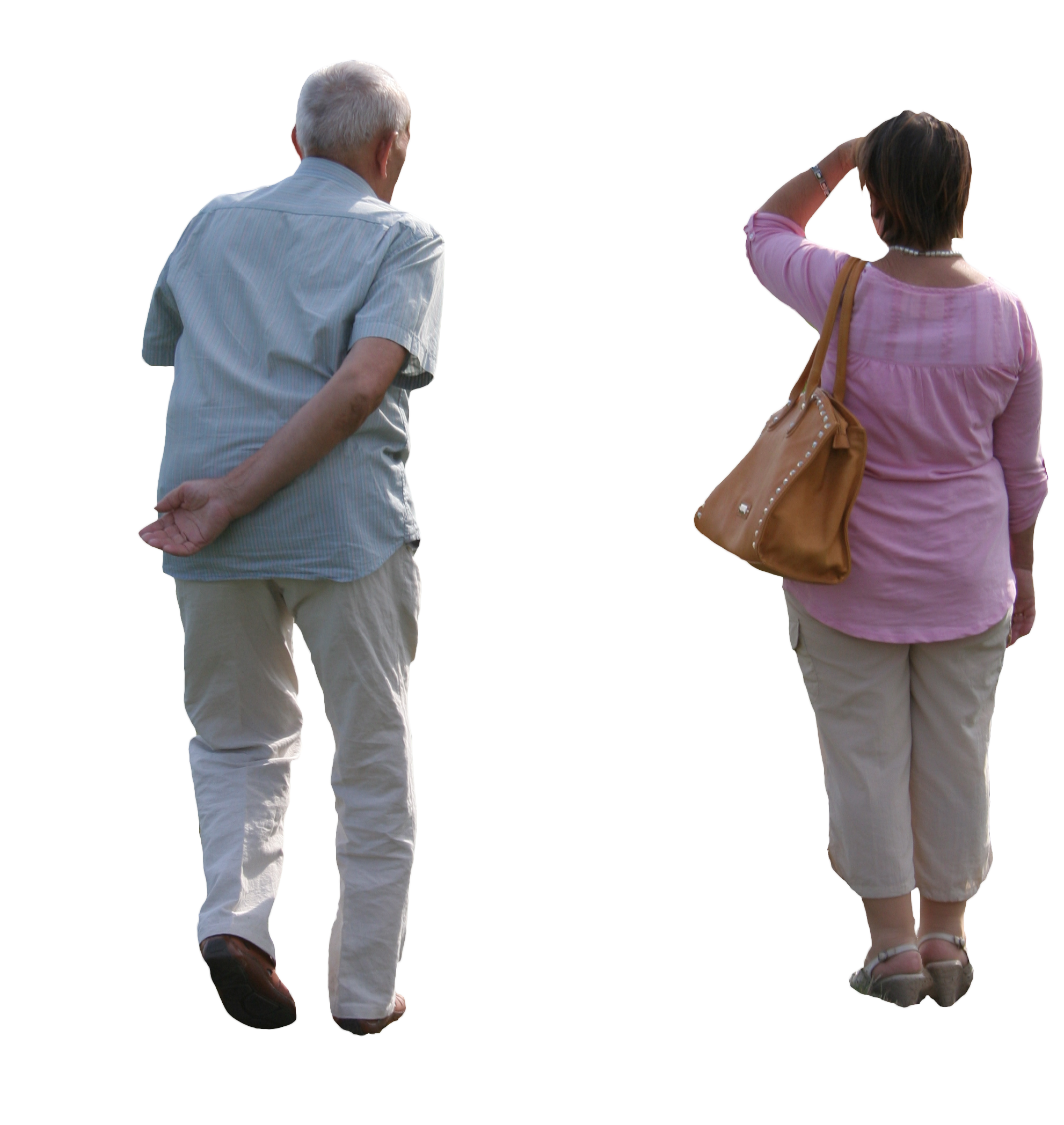 Elderly couple png. Old free cut out