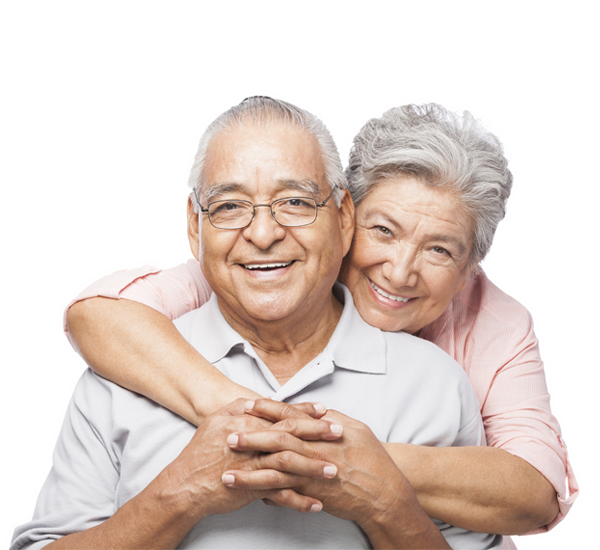 Elderly couple png. Helping the transparent images